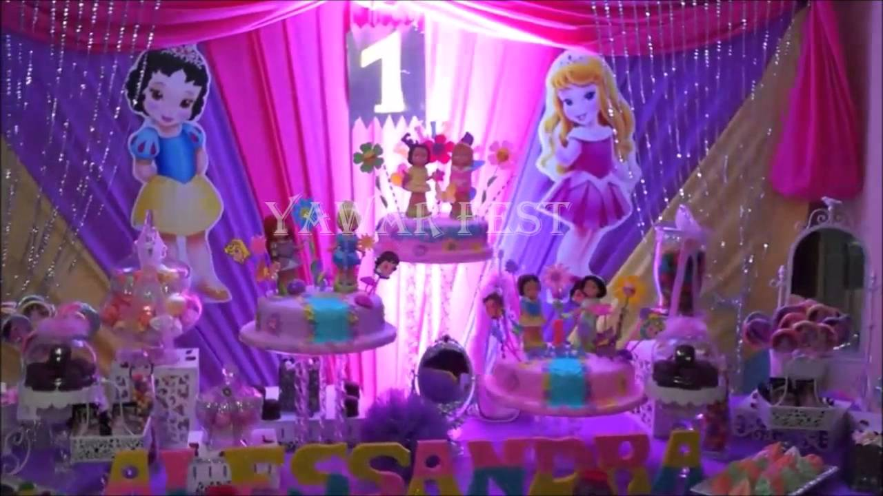 decoracion de princesas youtube