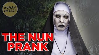 Scary Nun Prank in the Philippines: Run 🏃🏃🏃 | HumanMeter