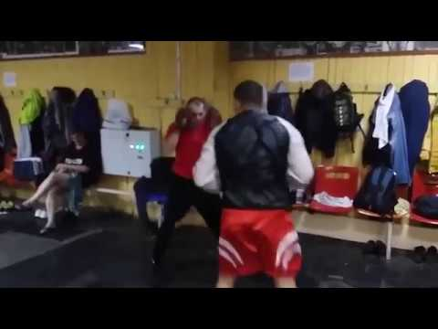 Charlie Zelenoff gets punched in the face repeatedly by Bek Madrahimov