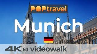Walking In MUN CH Germany 🇩🇪- 4K 60fps UHD