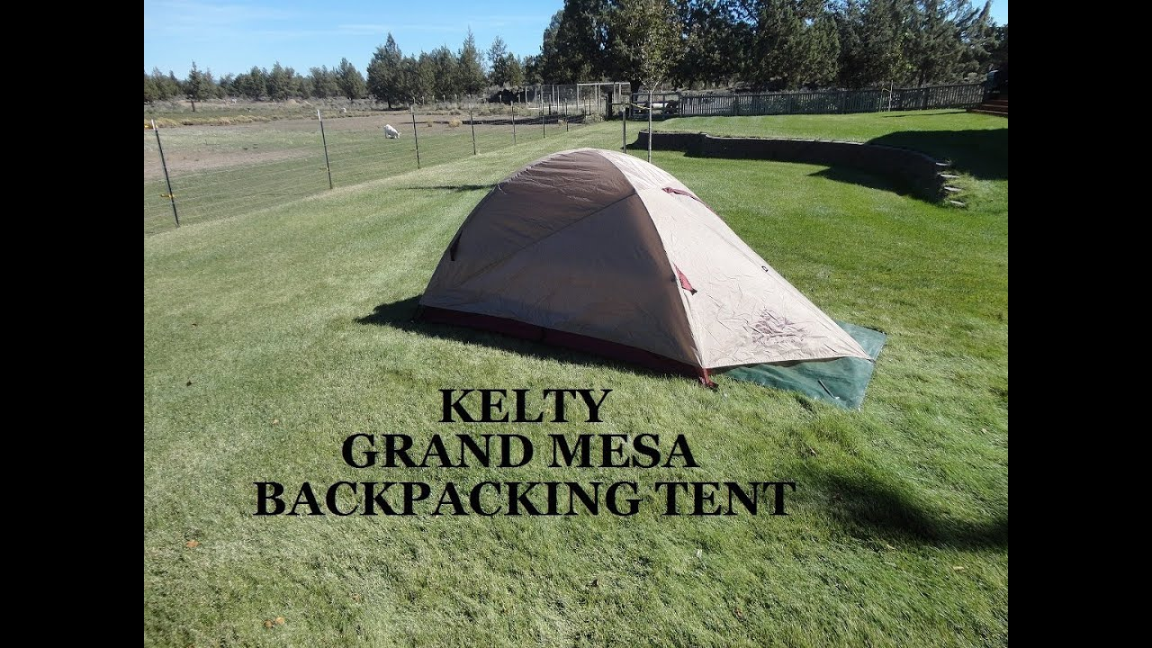Kelty Grand Mesa 2 Tent - YouTube