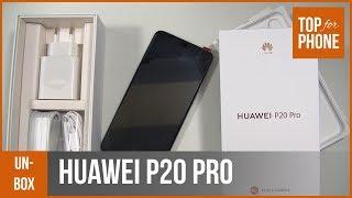 HUAWEI P20 PRO - déballage par TopForPhone