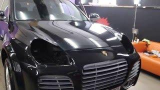 ШОК!!! Как украсть фары с Porsche Cayenne за 5 сек!!