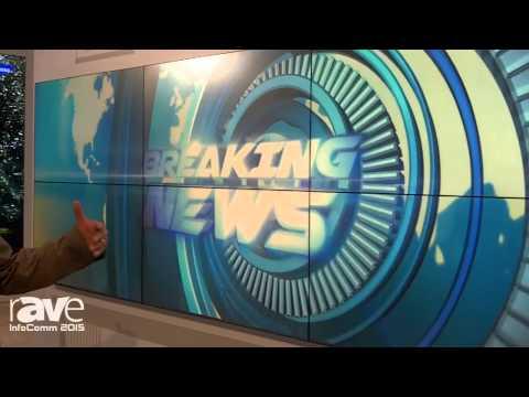 InfoComm 2015: Samsung Talks About Studio Broadcast Video Wall Solution