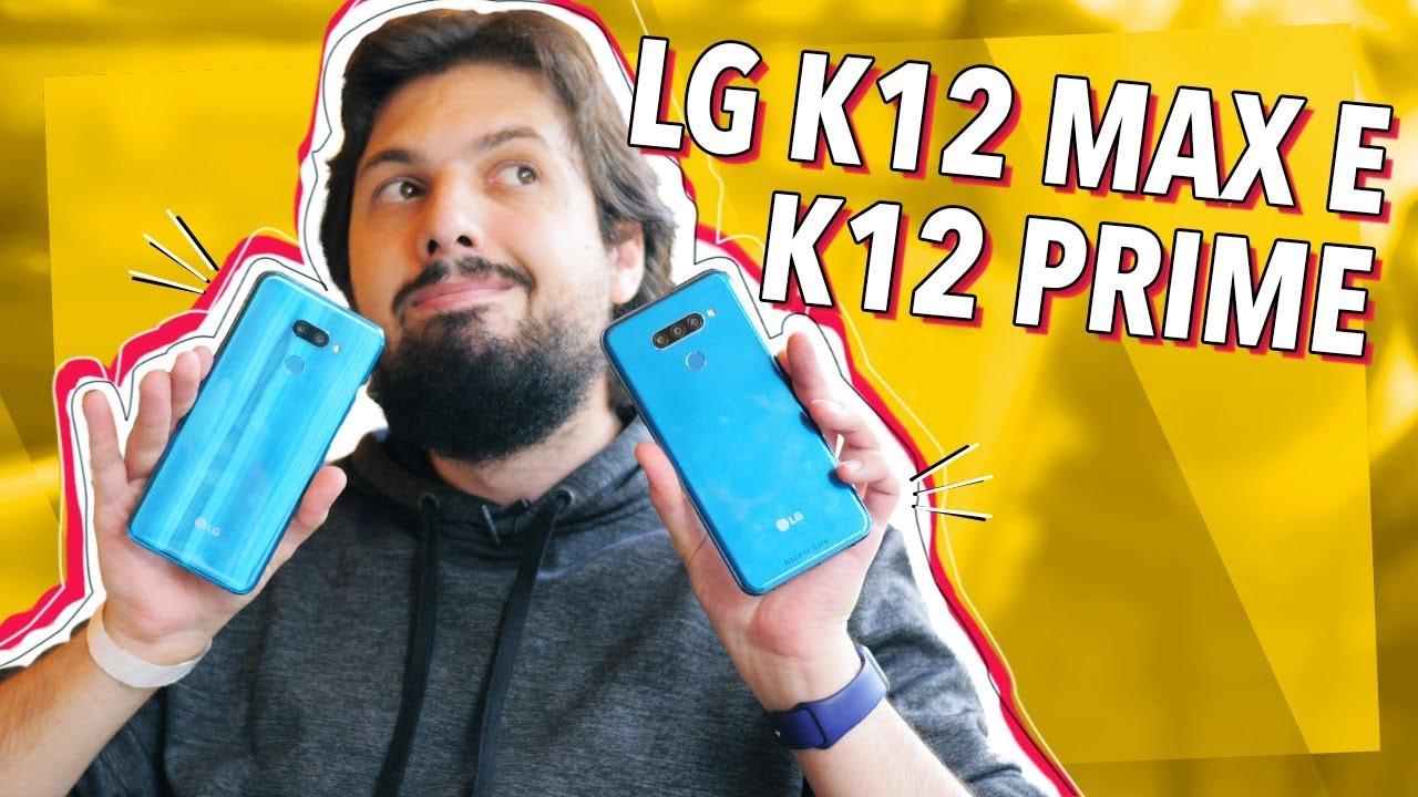 Download OS NOVOS LG K12 MAX E K12 PRIME! (HANDS ON)