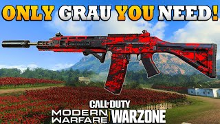 How to Make the Best Possible Grau 5.56 Class Setup for WARZONE | Modern Warfare BR | JGOD
