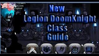 Aqw New Legion DoomKnight Class Guide (Combo,Solo)