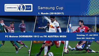 Dornbirn vs Austria Wien full match