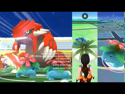 Download Youtube: HOW TO CATCH GROUDON'S COUNTER IN THE WILD! POKEMON GO