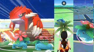 HOW TO CATCH GROUDON'S COUNTER IN THE WILD! POKEMON GO