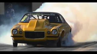 TWIN TURBO V8 CAMARO 7.19 @ 197 MPH SYDNEY DRAGWAY 8.5.2015