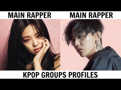 KPOP GROUPS PROFILES | BIGBANG & BLACKPINK