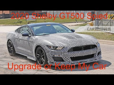 2020 Ford Mustang GT500 Spy Photos