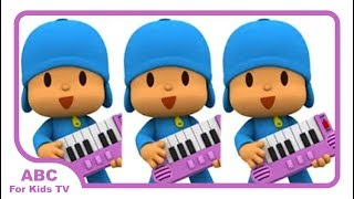 Talking Pocoyo Music Band Best Fun Apps For Kids l ABC For Kids TV