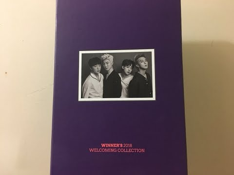 Unboxing — Winner 2018 Welcoming Collection