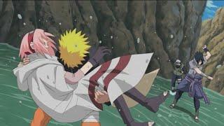 Наруто, Сакура и Какаши против Саске