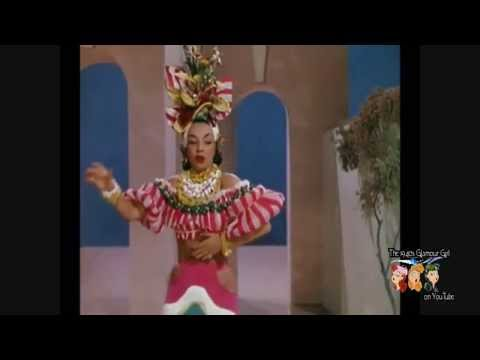 Week-end In Havana as sung by Carmen Miranda