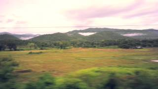 Nature Landscape of Thailand - Night Train from Chiang Mai to Bangkok
