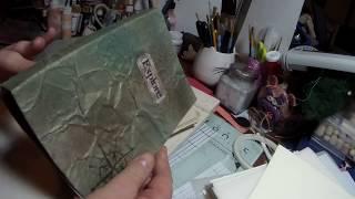 Stitch binding my Junk Journal