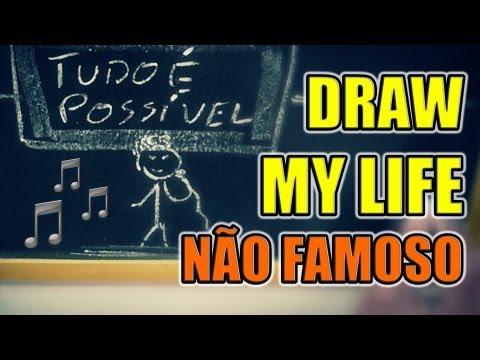 DRAW MY LIFE ♫  Paródia de Faroeste Caboclo  Não Famoso