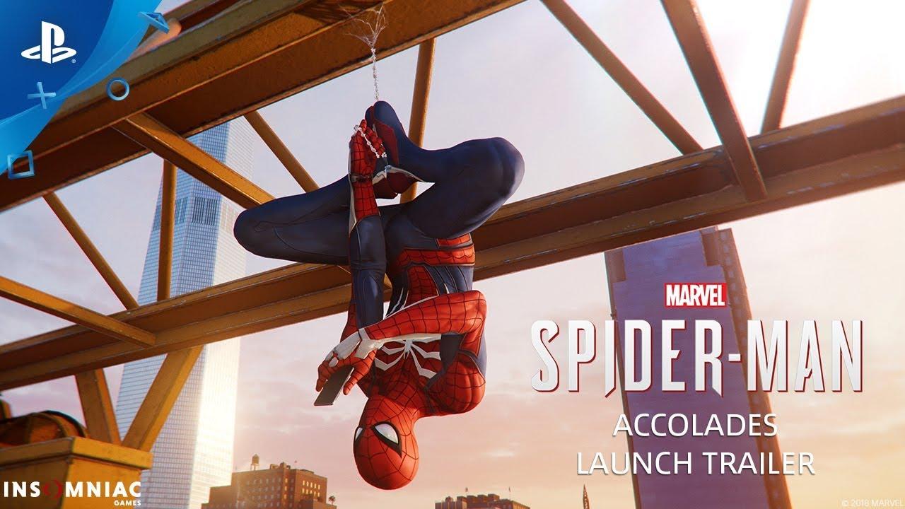 Marvel's Spider-Man – Accolades Trailer   PS4
