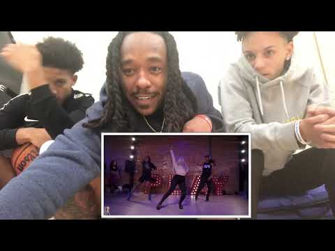 5k❤️😁 Tap Out | Aliya Janell Choreography | Queens N Lettos | Reaction