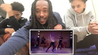 5k❤️😁 Tap Out   Aliya Janell Choreography   Queens N Lettos   Reaction