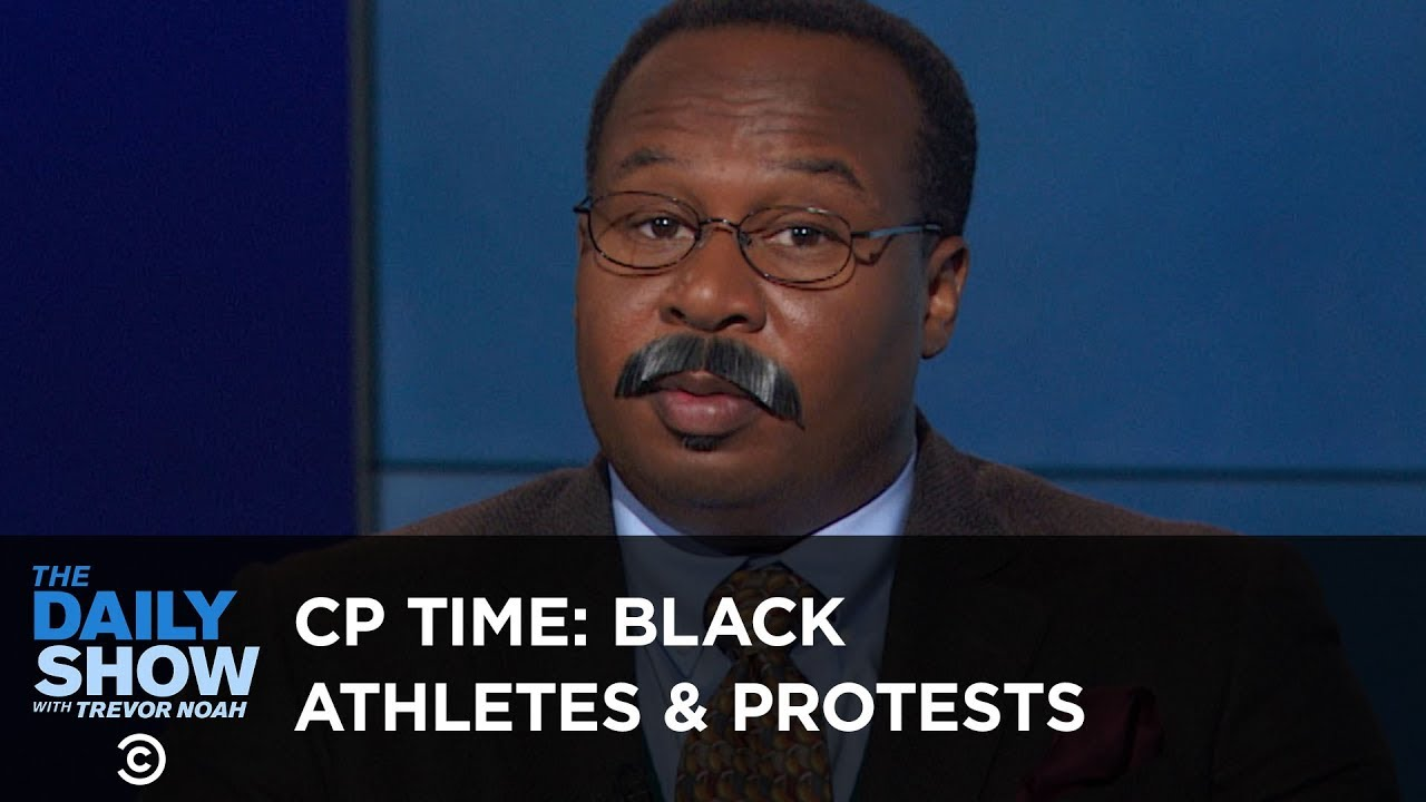 CP Time: The History of Protests by Black Athletes   The Daily Show