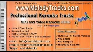 Prem ekbari eshechilo nirobe - Bangla KarAoke - www.MelodyTracks.com