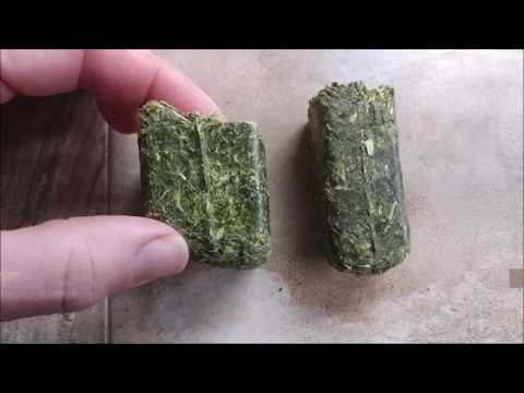 Alfalfa Cube Comparison - Standlee V.s Forage Global