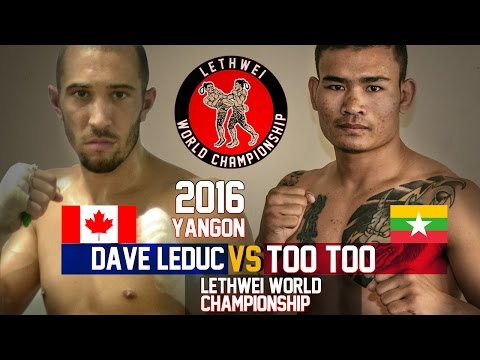 Too Too vs Dave Leduc, Myanmar Lethwei Fight, Lekkha Moun 20