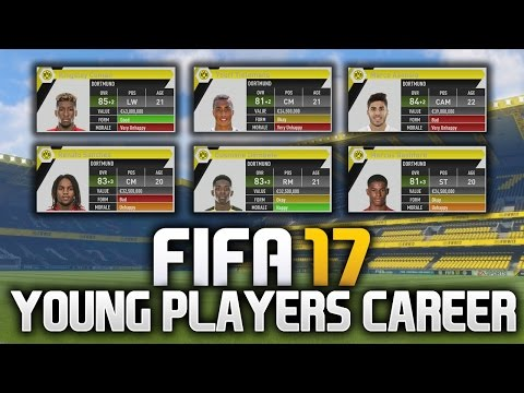 FIFA 17 CAREER MODE WITH THE BEST YOUNG PLAYERS!