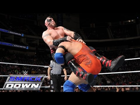 Ryback Vs. The Ascension – 2-on-1 Handicap Match: SmackDown – 10. Dezember 2015