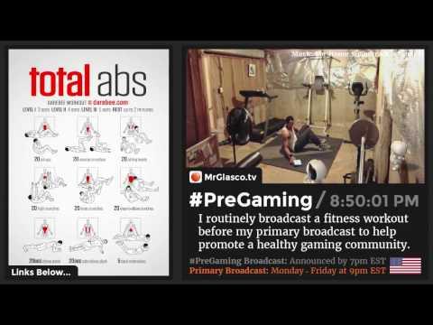 #PreGaming: DAREBEE Total Abs Workout 💪