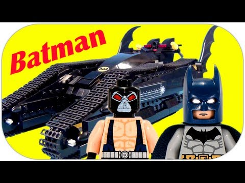 lego the dark knight rises batman bane v2 showcase. Black Bedroom Furniture Sets. Home Design Ideas