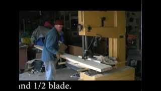Resawing Rough Sawn Lumber from my Sawmill