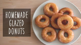 Homemade Glazed Donuts | Cathydiep