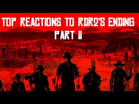TOP/BEST REACTIONS TO RED DEAD REDEMPTION 2'S ENDING! PART II
