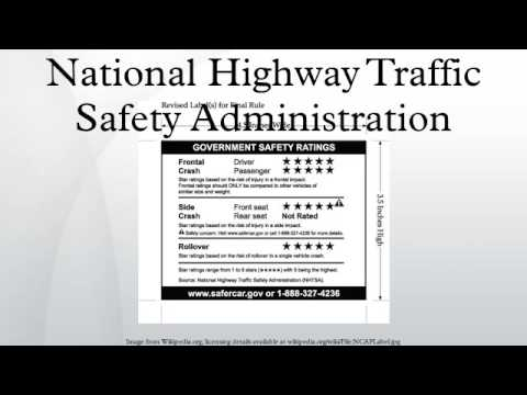 national highway traffic safety administration and The insurance institute for highway safety (iihs) is an independent, nonprofit scientific and educational organization dedicated to reducing the losses — deaths.
