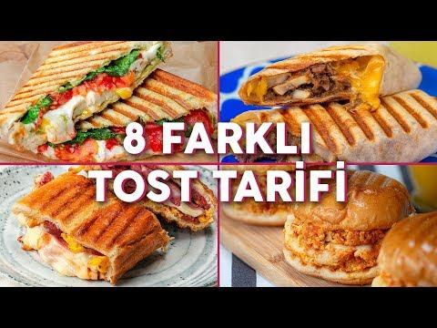 👉🥪 EN AZ ÜÇÜNÜ YAPACAKSINIZ! Gurme Ve Leziz 8 Farklı Tost Tarifi - Pratik Yemek Tarifleri