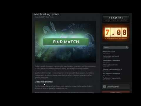 dota 2 new matchmaking update