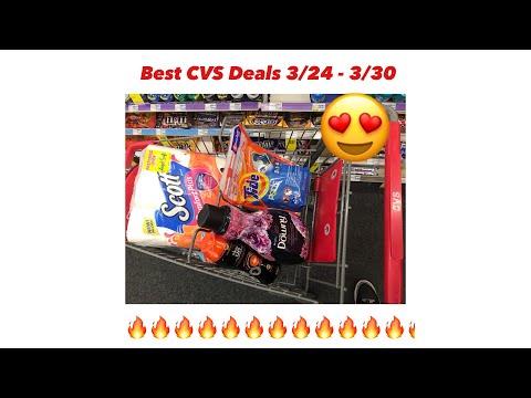 CVS Best Coupon Deals & Scenarios  For 3/24 – 3/30 – Smoking Hot Deal – Must Watch!!!
