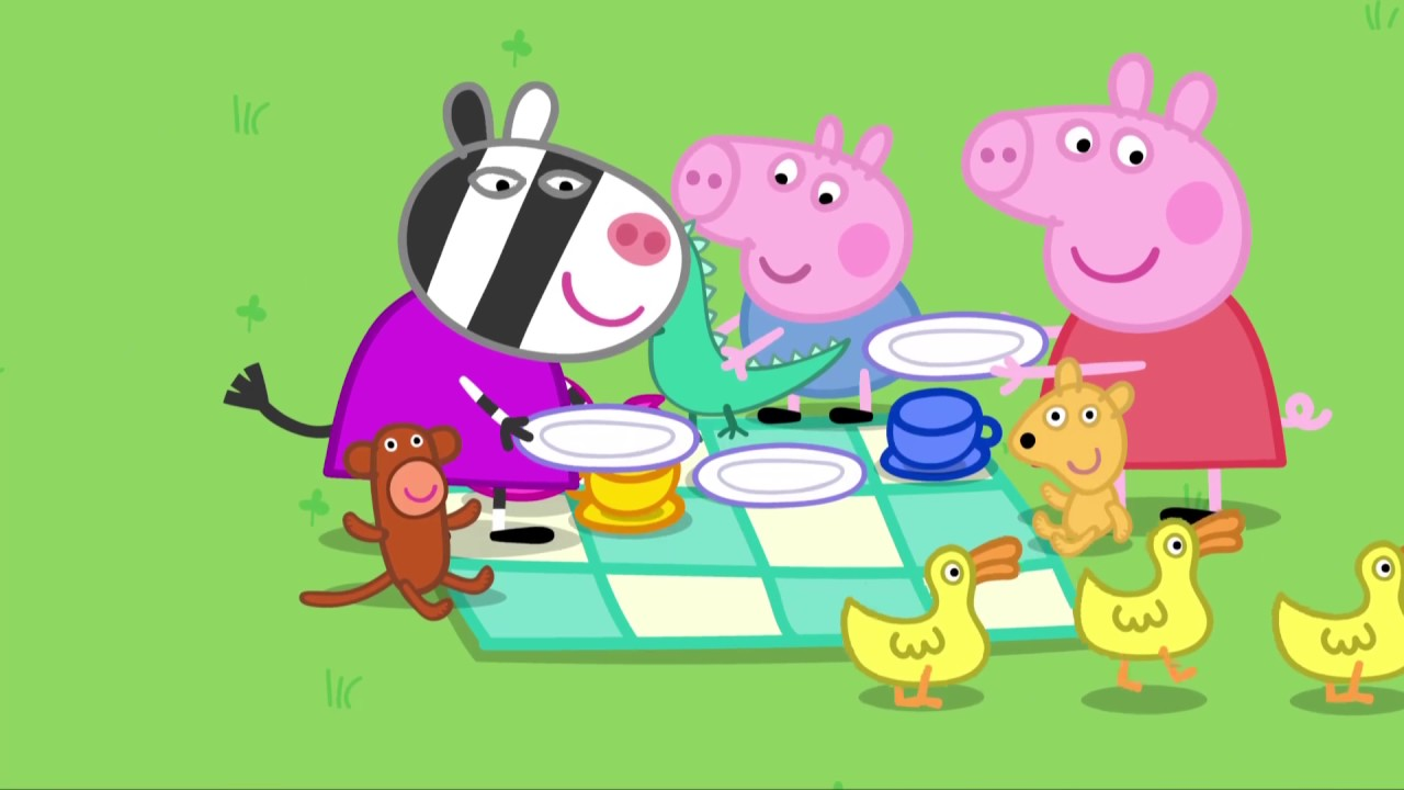 Peppa Pig 粉红猪小妹 第2季02【泰迪的一天 Teddys day out】中文版1080P