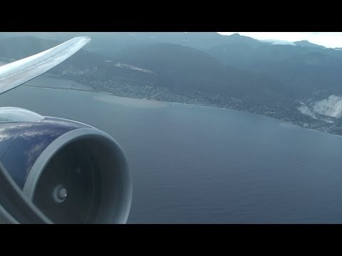 British Airways 777 - flight 2262  - full takeoff and climb out from Kingston Jamaica