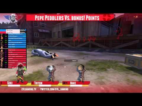 UGC Gold Finals Pepe Peddlers vs bonus! Points first half