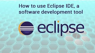 How to use Eclipse IDE, a software development tool | video by TechyV