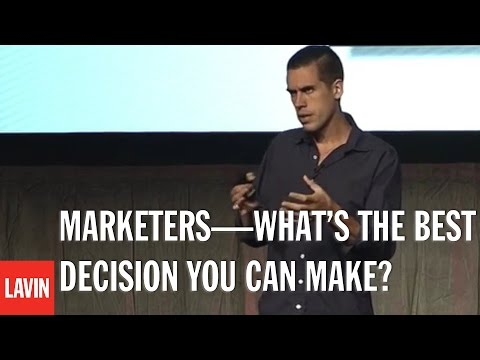 Ryan Holiday: Marketers—What's the Best Decision You Can Make?