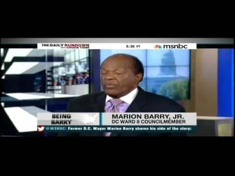 Marion Barry: Never smoked crack in my life