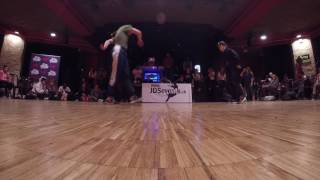 B-Girl Battle 1on1 Top 16 - Lerok vs Sona / Au-Delà Des Préjugés Festival 2017
