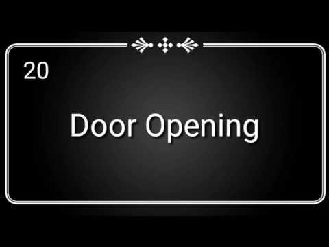 Door Opening- Sound Effect